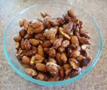 Healthy Candied Almonds